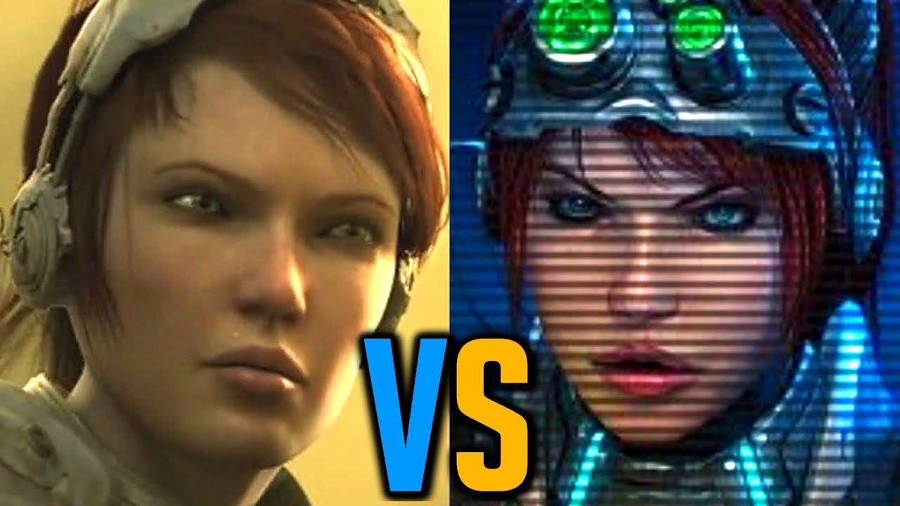 Mengsk Abandons Kerrigan To The Zerg Stacraft 2 Cinematic Vs Starcraft Remastered Gameplay
