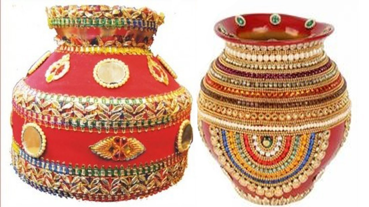 Pot decorative letest indian designs for marriage online video youtube - Why you should cook clay pots ...