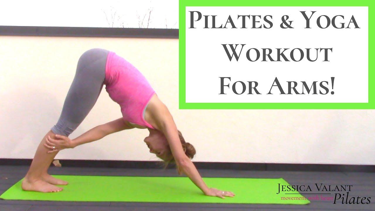Pilates Yoga Fusion Arm Workout Sculpt Youtube