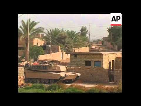 Troops fighting in Fallujah