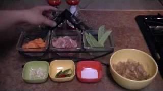 Quick And Healthy - 5 Minutes Meals - Pork Flat Stir Fry Noodles