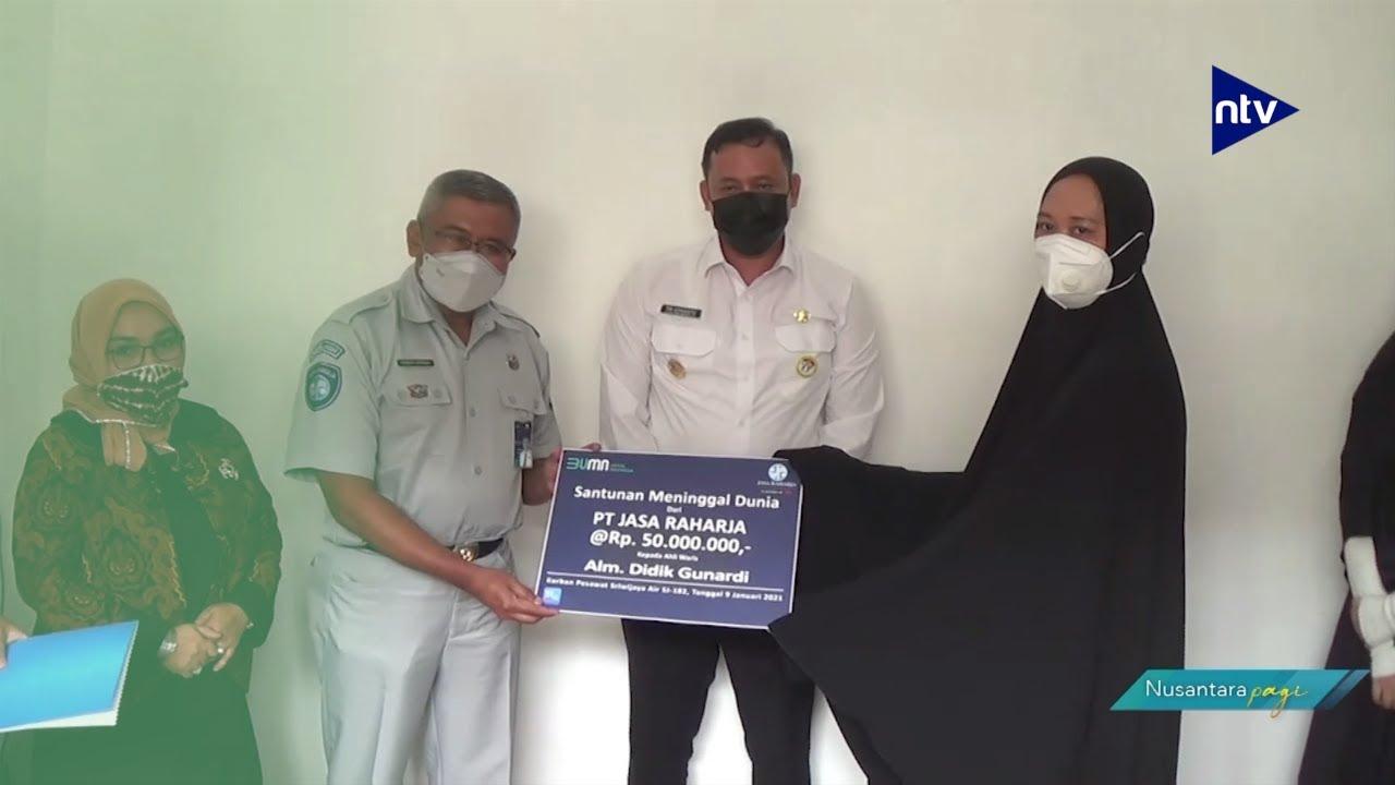 Jasa Raharja Santuni Korban Sriwijaya Air SJ 182