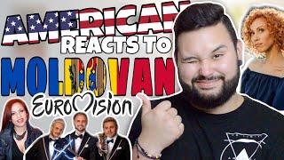 American REACTS // Moldovan Eurovision
