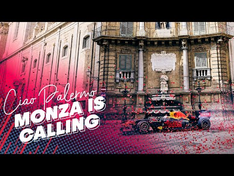 Ciao Palermo, Monza is calling! | Max Verstappen's road trip