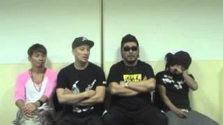 湘南乃風チャンネルをご覧の皆さんへ、メンバー4人から最新コメント映像...