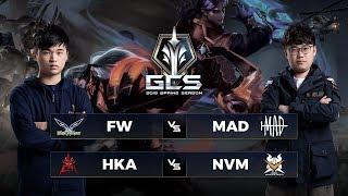 FW vs MAD | HKA vs NVM - Tuần 12 Ngày 2 - GCS Mùa Xuân 2019
