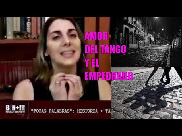 Historia del tango con el adoquinado porteño.