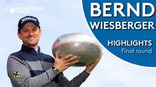 Bernd Wiesberger Winning Highlights | 2019 Made in Denmark
