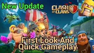 Clash of Clans Latest Update 2017 First Look, Impression And Quick Gameplay   New Island Game mode  