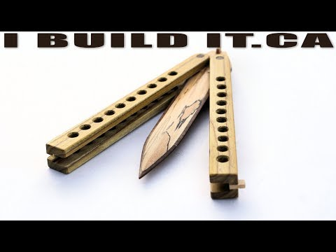 Making This REAL Wooden Butterfly Knife