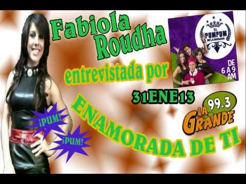 FABIOLA ROUDHA - Radio La Grande 99.3 FM - Enamorada de Ti - 31ENE13 Guatemala