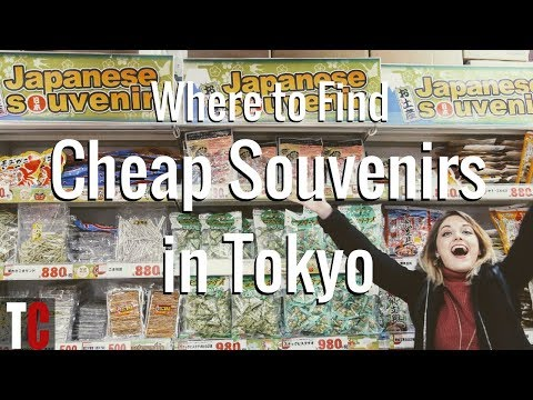 Top Shops for Cheap Souvenirs in Tokyo