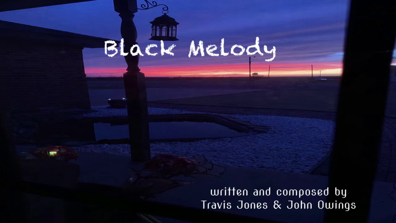 Black Melody lyric video