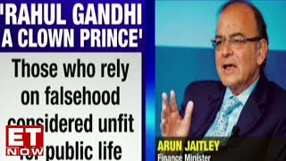 FM Arun Jaitley attacks Rahul Gandhi for concocting lies on the Rafale Deal