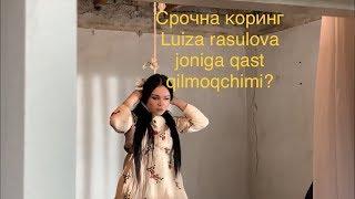 LUIZA RASULOVA joniga qasd qildimi? OZINI OSMOQCHI