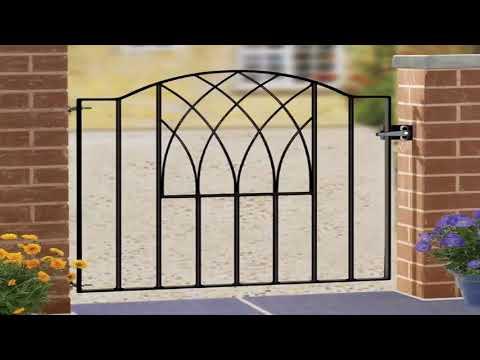 Wrought Iron Garden Gates Designs