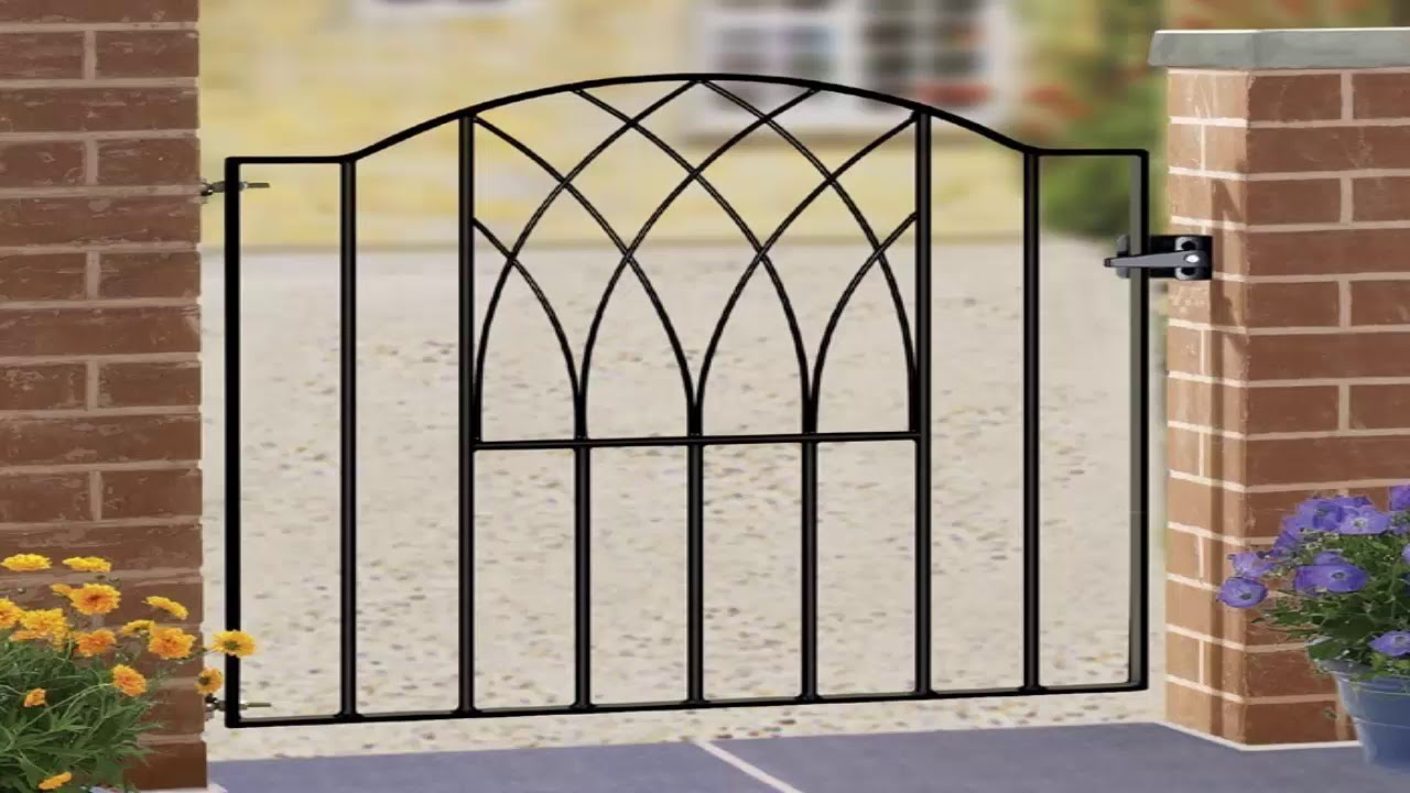 Wrought Iron Garden Gates Designs
