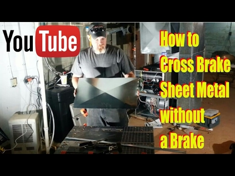 Using The Harbor Freight Bending Brake Doovi