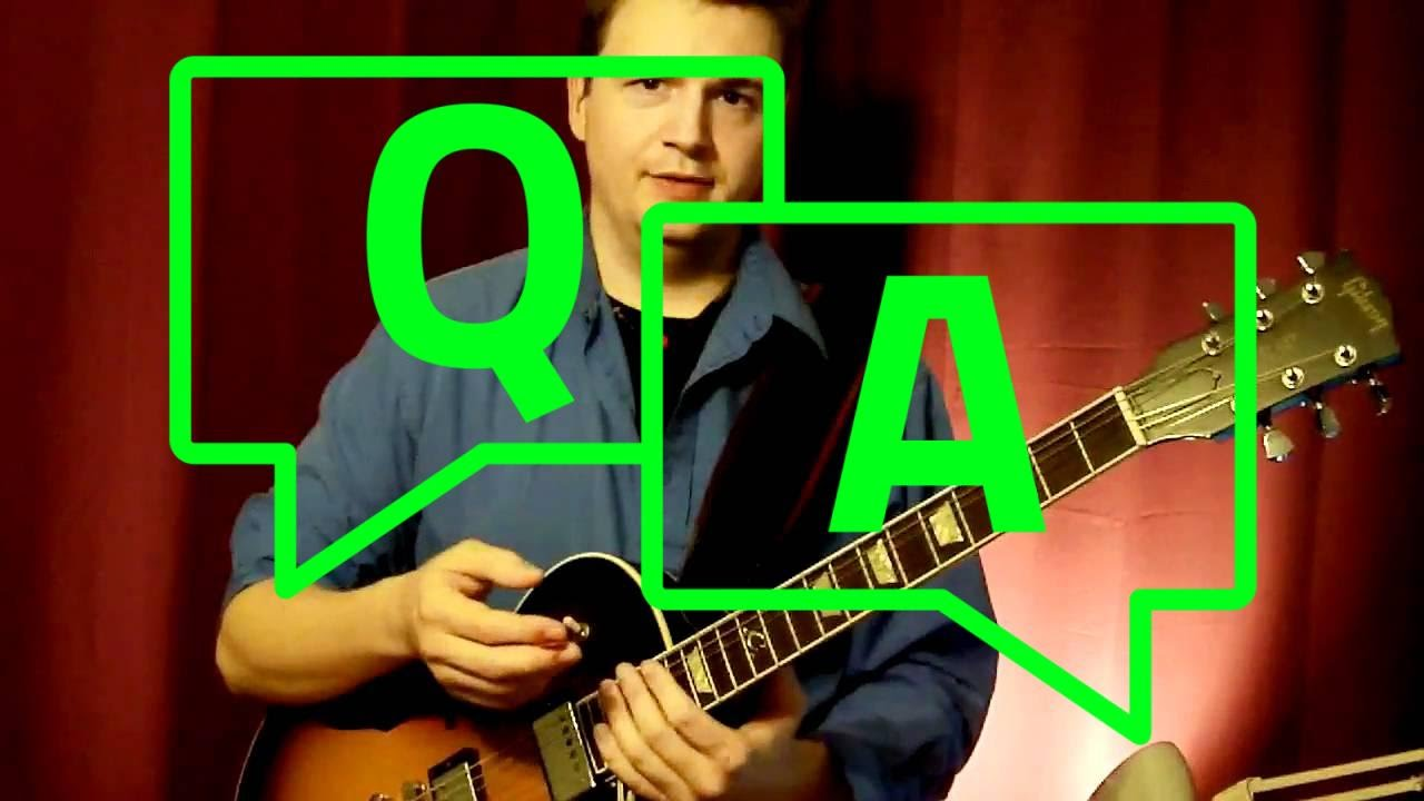 Jazz Guitar Scales: How to NOT sound like scales - in Jazz