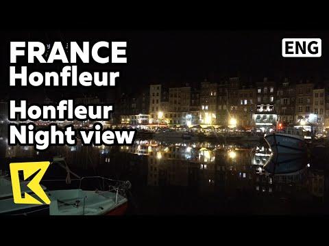 【K】France Travel-Honfleur[프랑스 여행-옹플뢰르]옹플뢰르의 활기찬 밤/Night view/Port
