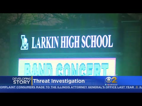 Elgin Police Investigate Shooting Threat At Larkin High School