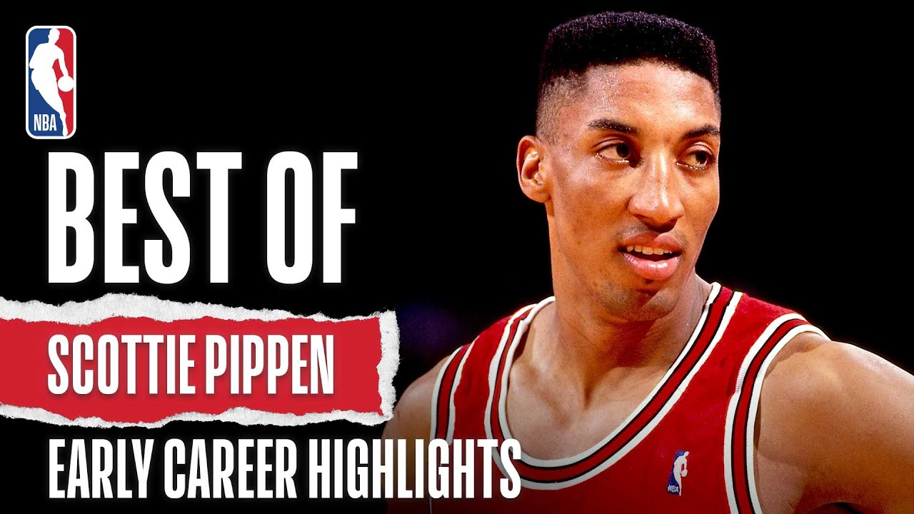 Best Of Scottie Pippen Early Career Highlights