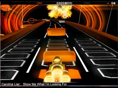 Carolina Liar - Show me What I'm Looking For (Audiosurf)