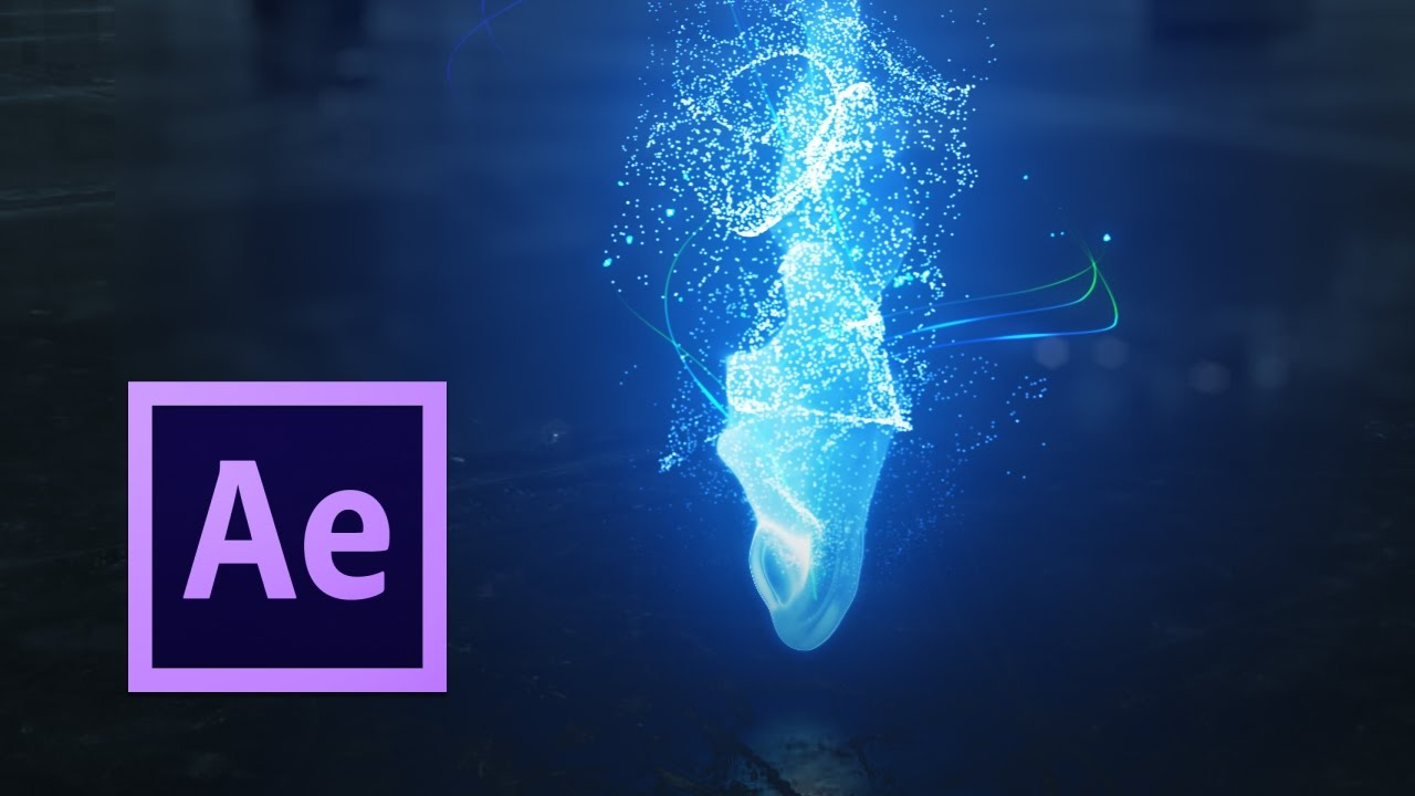 fluid simulations w particular after effects tutorial youtube