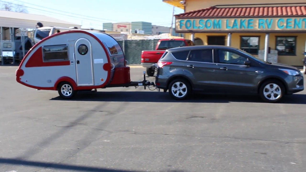 Ford Escape Towing Capacity >> Watch A Video Of A Ford Escape Towing A T B Little Guy Lightweight Camping