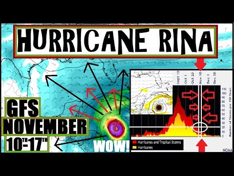 HURRICANE RINA?! Models Showing Strong Possibility & HISTORICAL Recap 2017 Hurricane Season!
