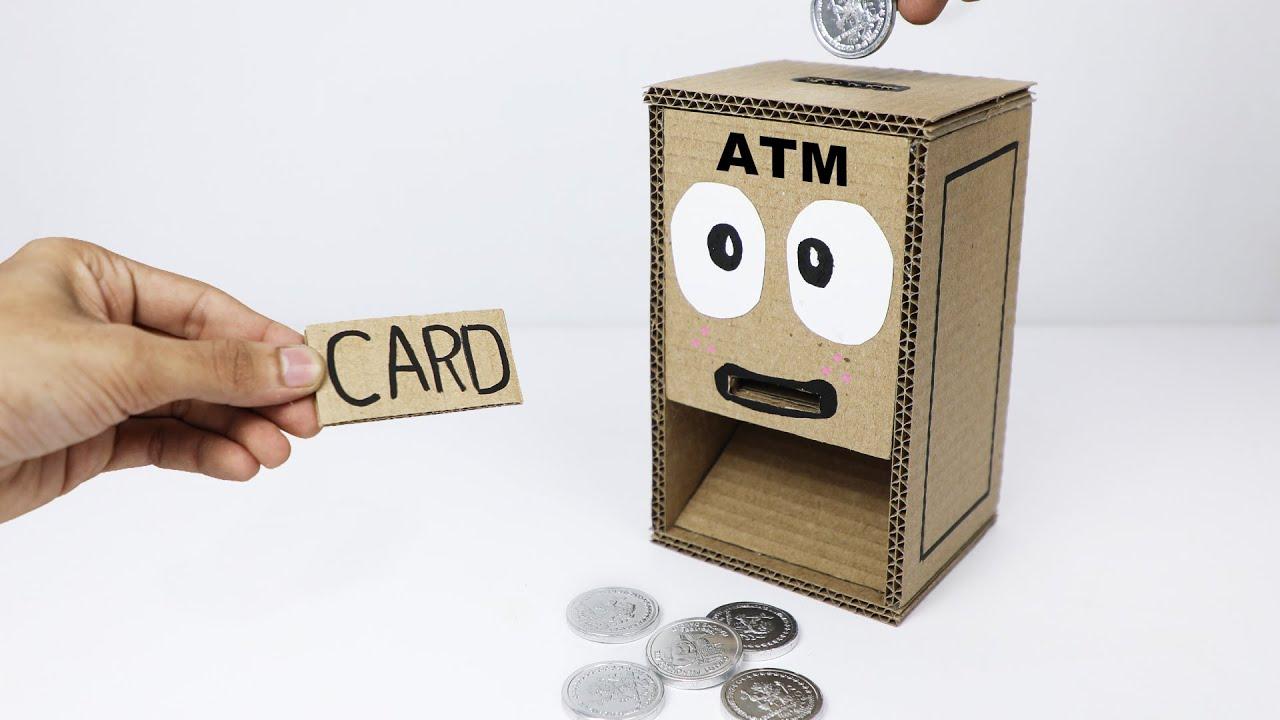 Download How to Make Mini ATM Machine Cardboard