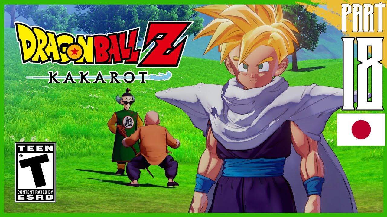 Dragon Ball Z: Kakarot Walkthrough [Japanese Dub] Part 18 『ドラゴンボールZ カカロット』