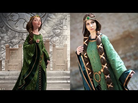 Brave Characters In Real Life | Disney Princess Movie