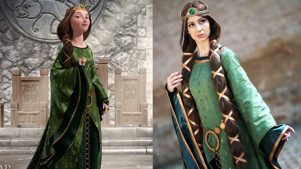 Download Brave Characters in Real Life | Disney Princess Movie