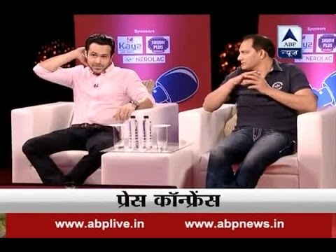 Press Conference: Episode 40: Sangeeta supported me during match fixing accusations, says Azharuddin