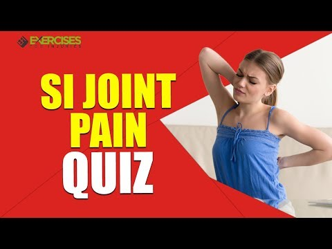 SI Joint Pain Quiz