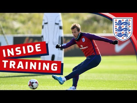 England's cross & finish session | Inside Training
