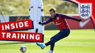 England's cross & finish session | Inside Training