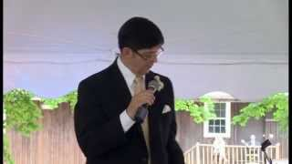 Greatest Father of the Bride Speech Ever