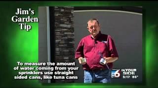 Jim's Garden Tip - Watering Your Lawn