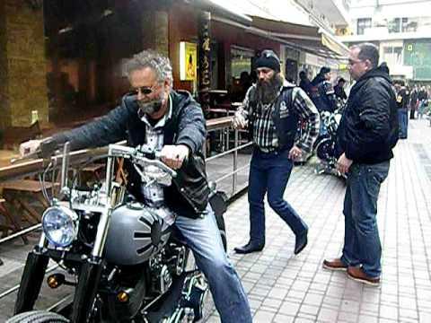 Freebiker free biker party motorcycle, harley davidsdon, katerini, pieria
