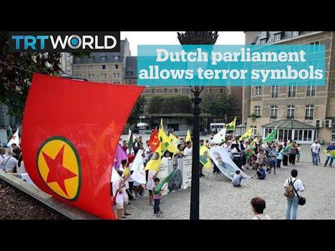 Dutch parliament votes against ban on terrorist flags