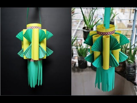 How to Make Paper Lantern for Diwali and Christmas | Kandil Making | Diwali Decoration Ideas