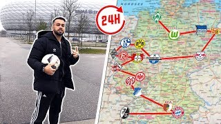 Visiting all Bundesliga Stadiums in 24 Hours!