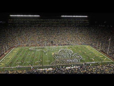 Spartan Marching Band: Halftime | MSU vs. Michigan: 10.7.2017