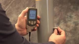 Ультразвуковой толщиномер DeFelsko PosiTector UTG(PosiTector UTG измеряет толщину стенки материалов, таких как сталь, пластик и многое другое с помощью ультразвуко..., 2016-08-09T13:09:43.000Z)