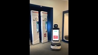 [퓨처로봇]한국인삼공사 안내서비스 로봇(다아로) 시연 …