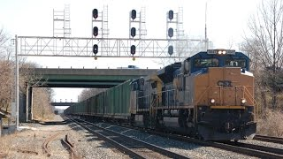 Almost 2 Hours Of CSX Freight Trains