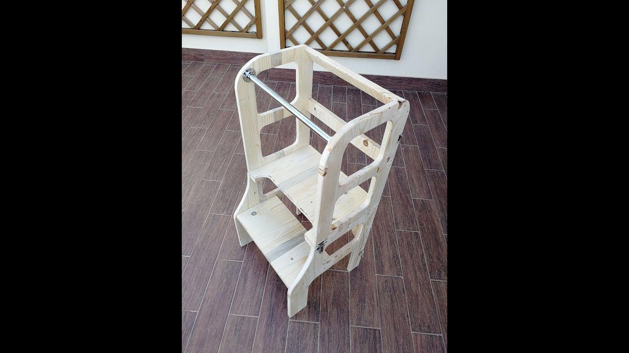Costruire la torre per l apprendimento montessoriana per bambini