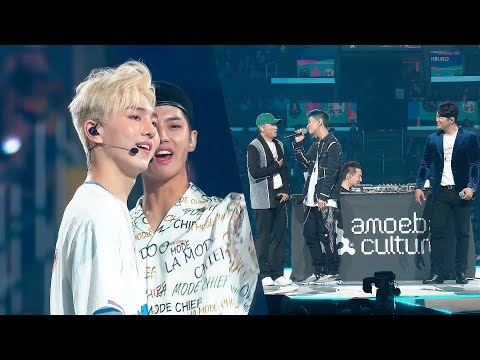 PENTAGON And Crush Sing 'Like This', 'Beautiful' LIVE At #KCON18LA | MY KCON PLAYLIST
